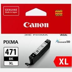 Genuine Canon CLI-471XL Black Ink Cartridge