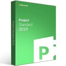 Microsoft Project Standard 2019 DVD (076-05772)