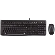 Logitech MK120 Wired Desktop Keyboard and Mouse Combo