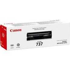 Genuine Canon 737 Black Toner Cartridge