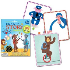 eeBoo Sequencing & Communication Story Cards: Circus Adventure