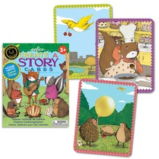 eeBoo Sequencing & Communication Story Cards: Animal Village