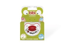 Bibi - 16m+ Silicone Soother - I love Mama