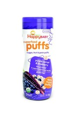 Happy - Baby Puffs Blueberry and Purple Carrot - 60g