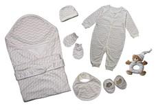FlyByFly Baby Gift Box Set - 7 Piece