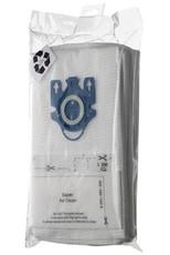 Pack of 4 Universal Vacuum Bags + 2 Filters (Fits Miele Vacuum Cleaners)
