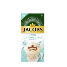 Jacobs Iced Coffee Cappuccino Original - Pack of 8 sticks, 1 Pack