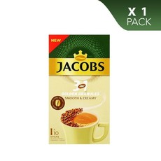 Jacobs Instant Coffee 3 in 1 Gloden Granules, Smooth&Creamy - Sticks