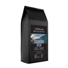 Caffeluxe Espresso Ground Colombian Decaf Medium Roast - 1kg