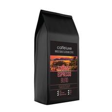 Caffeluxe Plunger Ground Gourmet Espresso Blend Dark Roast - 1kg