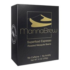 MannaBrew Superfood Espresso - Coffee Alternative Caffeine Free