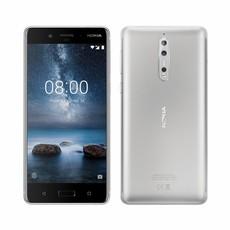 Nokia 8 Smartphone - Steel