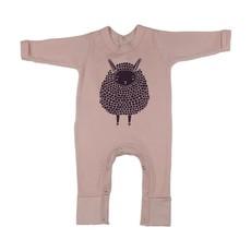 Magpie Designs Lamb Pink Babygrow/onsie