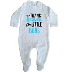 Thank Heaven For Little Boys Bodysuit
