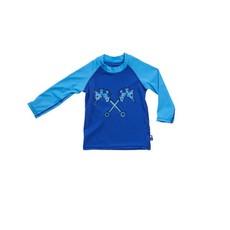 Parental Instinct Boys Quick Dry UPF50+ Long Sleeve Body Swim Suit - Blue