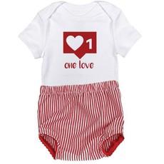 Valentines-Baby-One love