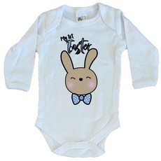 Easter-My First Easter-Boys-Babygrow-Longsleeve