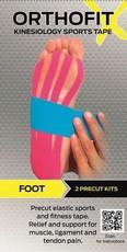 Orthofit X Kinesiology Sports Tape - Foot