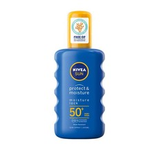NIVEA SUN Protect & Moisture Sun Spray SPF50+ Sunscreen - 200ml