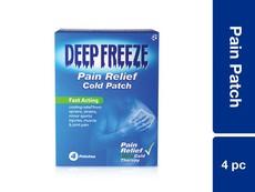Deep Freeze Pain Patch 4PC
