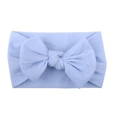 Stretchy Ribbon Baby Girl Knotted Bow Headbands