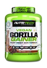 Nutritech Vegan Gorilla Gainer - King Cocoa - 4kg