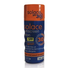 Solace SPF30 50ml Squeeze Bottle - Sport
