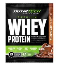 Nutritech Premium Whey Protein Sachets - Chocolate - 32g x 15