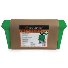First Aid Factory Regulation 7 In Maji Plastic Box