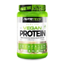 Nutritech 100% Vegan Protein Naturally Unflavoured - 908g