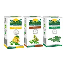 Moringa Tea - Lemon & Ginger and Lemongrass Infusion