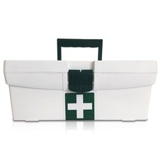 First Aid Office Regulation 7 In Maji Plastic Box