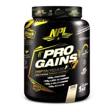 NPL Pro Gains, Vanilla Ice Cream - 1kg