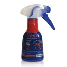 Solace SPF50 125ml Spray - Premium and Kids