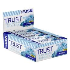 USN Trust Protein Bar 58g x 12 - Blueberry
