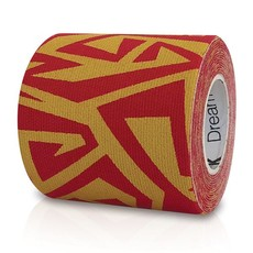 Kinesiology Tape Dream K Tribe - Yellow/Red - 5cm x 2m