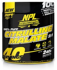 NPL Citrulline Malate - 240g