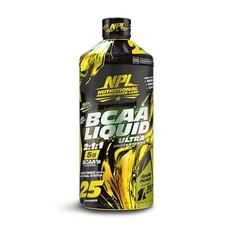 NPL BCAA Liquid, Apple Punch - 1L
