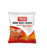 Vital Mini Rice Cakes Sweet And Spicy Salsa - 30g