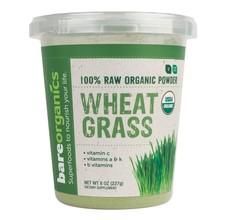 BareOrganics Organic Immunity Wheatgrass Powder - 228g