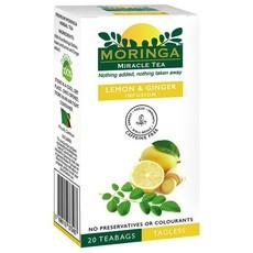 Moringa Tea - Lemon & Ginger Infusion