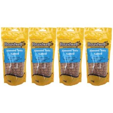 Almond nuts, Himalayan salted, 4x250g