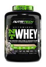 Nutritech NOTORIOUS NT Whey 3kg Cookies & Cream Gelato