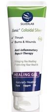 Silverlab Colloidal Silver Healing Gel Tube - 75ml