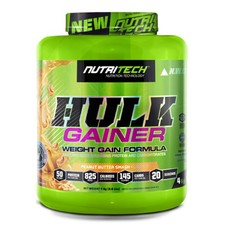 Nutritech Hulk Gainer Peanut Butter Smash - 4kg