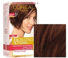 Loreal Excellence creme Mahogany Brown