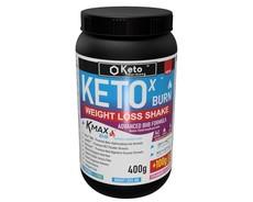 KETO X BHB Weight Loss Shake-Strawberry 400g + 100g Free