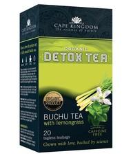 Cape Kingdom Detox Tea Buchu & Lemongrass