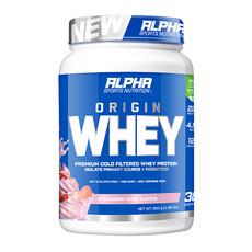 Alpha Sports Nutrition Origin Whey - Strawberry Swirl - 900g