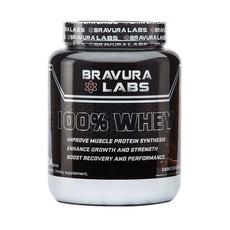 Bravura Labs 100% Whey Protein - Dark Chocolate - 924g